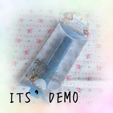 Pokémon Lip Stick/IT'S DEMO/口紅を使ったクチコミ(1枚目)