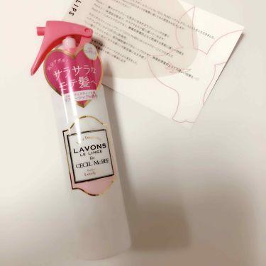 みきのんさんの「ラボン ルランジェラボン for CECIL McBEEヘアミストラブリーシックの香り<ヘアスプレー・ヘアミスト>」を含むクチコミ
