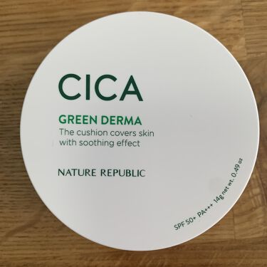 CICA GREEN DERMA The cushion covers skin with soothing effect