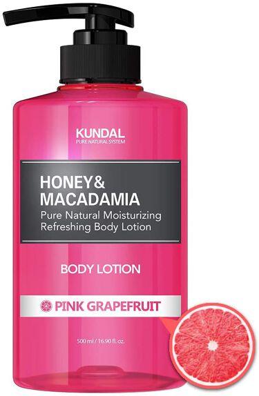 ハニー&マカダミア ピュアボディローション ピンクグレープフルーツ Pink grapefruit