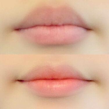 ラスティンググロスリップ/CEZANNE/口紅を使ったクチコミ(4枚目)