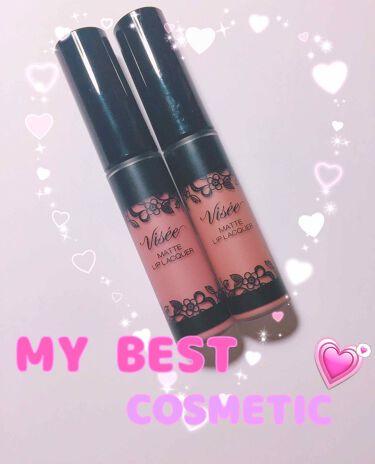 リシェ マットリップラッカー/Visee/口紅 by pink♡♡