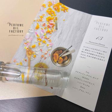 オリジナルパフュームオイル/The PERFUME OIL FACTORY/香水(レディース)を使ったクチコミ(2枚目)