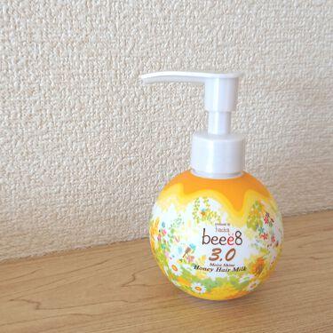 モイストシャイン ハニーヘアミルク 3.0/beee8/アウトバストリートメントを使ったクチコミ(1枚目)