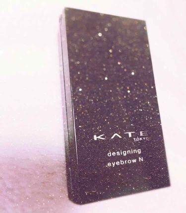 デザイニングアイブロウN/KATE/パウダーアイブロウを使ったクチコミ(1枚目)