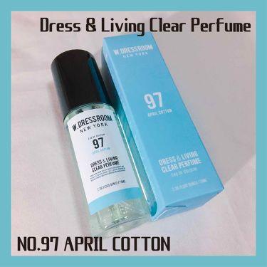 ドレス&リビング クリーン パフューム/W.DRESSROOM/香水(レディース)を使ったクチコミ(3枚目)