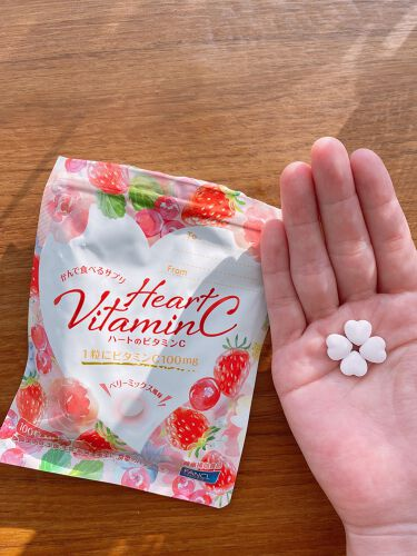ハートのビタミンC/ファンケル/健康サプリメントを使ったクチコミ(2枚目)