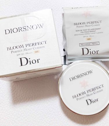 スノー ブルーム パーフェクト クッション SPF50/PA+++/Dior/化粧下地を使ったクチコミ(1枚目)