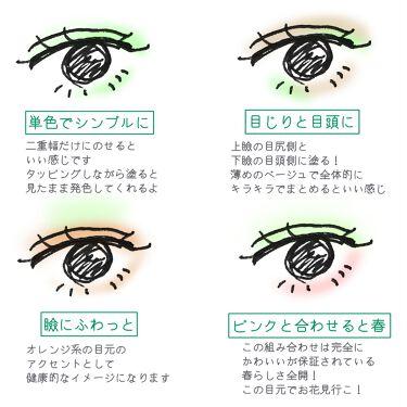 ツイン カラー アイシャドウ/ちふれ/パウダーアイシャドウを使ったクチコミ(3枚目)