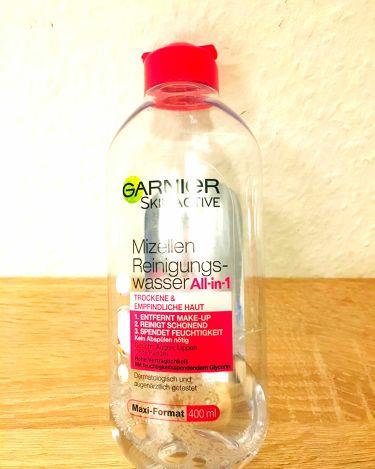 kohleさんの「GARNIER(海外)GARNIER Skin Active 400ml<リキッドクレンジング>」を含むクチコミ