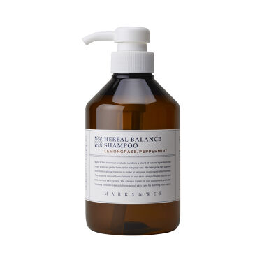 2020/4/9発売 MARKS&WEB ハーバルバランスシャンプー・コンディショナー レモングラス/ペパーミントの香り
