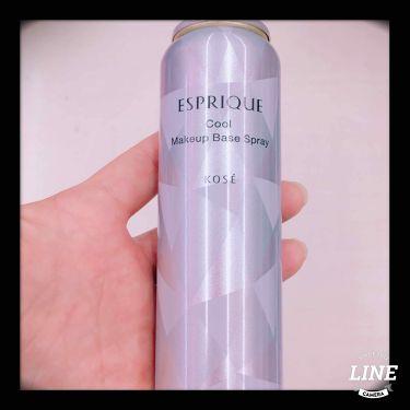 ひんやりタッチ 化粧下地スプレー/ESPRIQUE/化粧下地を使ったクチコミ(1枚目)