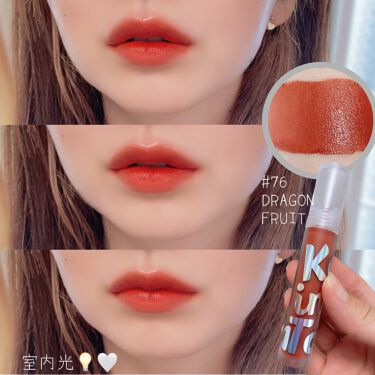 Tattoo lip candle tint/Keep in Touch/口紅を使ったクチコミ(6枚目)