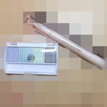 MP2wayアイクレヨン/セリア/ジェル・クリームアイシャドウを使ったクチコミ(2枚目)