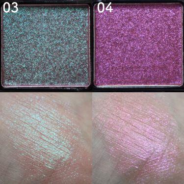 UR GLAM オーロラアイシャドウ/URGLAM/パウダーアイシャドウを使ったクチコミ(4枚目)
