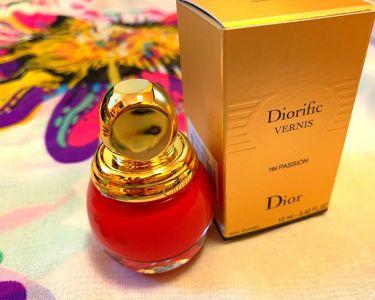 ヴェルニ ディオリフィック/Dior/マニキュアを使ったクチコミ(1枚目)