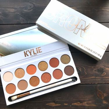 Kylie Cosmetics Bronze Extended Palette