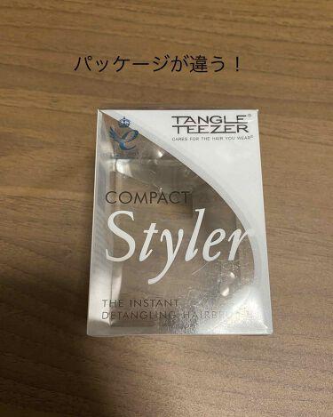 コンパクトスタイラー/TANGLE TEEZER/ヘアブラシを使ったクチコミ(3枚目)