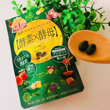 【画像付きクチコミ】和漢と発酵の素材で内側から体をきれいに強く!菌活&バリアの発酵酵素サプリです。イヌリン・キャンドルブッシュなどの活きてる酵素が滞りがちな体の代謝を助けてくれます。スッキリできそう!ユーグレナや野草・果物などの20...