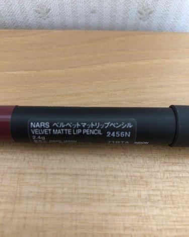 NARS ベルベットマットリップペンシルの新着クチコミ