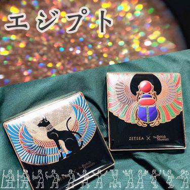 ZEESEA × 大英博物館 16 Colors Eyeshadow Tray/ZEESEA/パウダーアイシャドウ by 社畜系女子