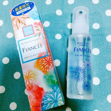 ボディミスト HANABI /フィアンセ/香水(レディース)を使ったクチコミ(1枚目)