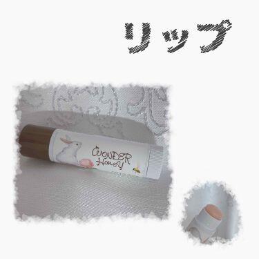 ワンダーハニー リップエッセンスクリーム/VECUA Honey/リップケア・リップクリームを使ったクチコミ(1枚目)