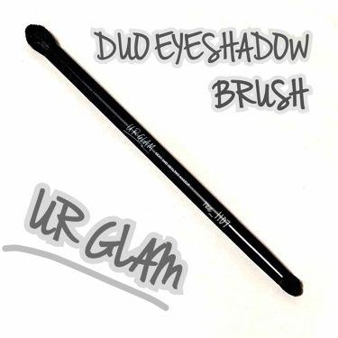 UR GLAM DUO EYESHADOW BRUSH A(デュオアイシャドウブラシA)/DAISO/メイクブラシを使ったクチコミ(2枚目)