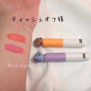 BT21 × VT Cosmetic glow  lip lacquer/VT Cosmetics/リップグロスを使ったクチコミ(3枚目)