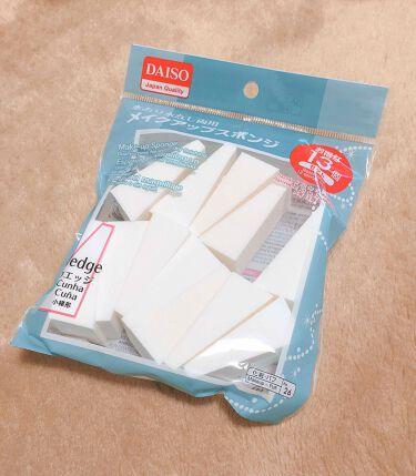 ダイソーメイクアップスポンジ13個入り / DAISO