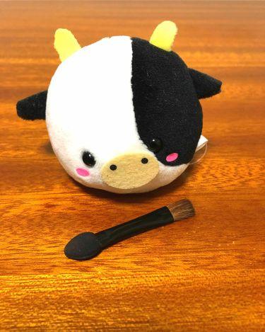 春姫ブラシ付きアイシャドウチップ/DAISO/メイクブラシを使ったクチコミ(1枚目)