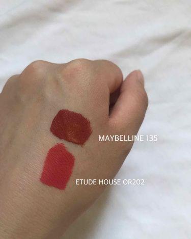 マットシックリップラッカー/ETUDE HOUSE/口紅を使ったクチコミ(2枚目)
