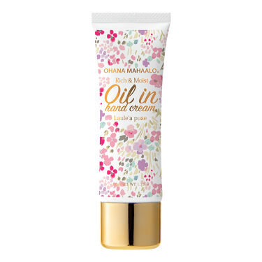 2020/9/10発売 OHANA MAHAALO オイルインハンドクリーム ラウレア ピュア