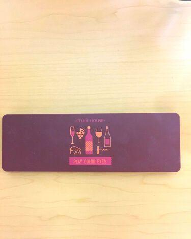 プレイカラー アイシャドウ ワインパーティー/ETUDE HOUSE/パウダーアイシャドウを使ったクチコミ(2枚目)