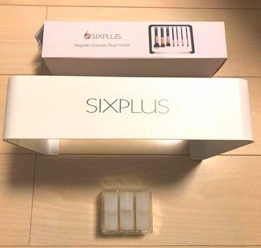 SIXPLUS 大理石柄のメイクブラシ8本セット/SIXPLUS/メイクブラシを使ったクチコミ(3枚目)