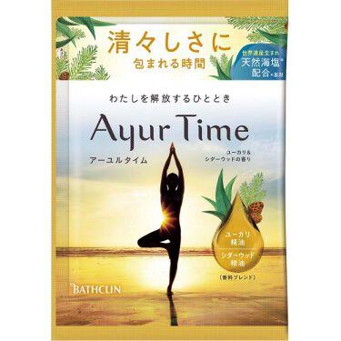 Ayur Time(アーユルタイム) ユーカリ&シダーウッドの香り 40g