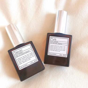 【画像付きクチコミ】今回は私が持っていてお勧めしたい香水を投稿させていただきましたʚ(¨̮)ɞ【AUXPARADIS】๑Savon๑これはザッ石鹸!という感じで誰でも付けやすいものだと思います。お風呂上がりみたいな感じでふわぁ〜と香り清潔感のある子って感...