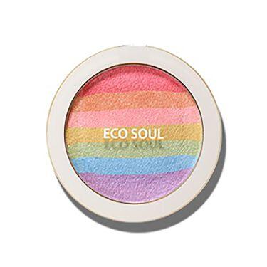 Eco Soul Rainbow Blusher the SAEM