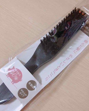 豚毛ブラシ / DAISO