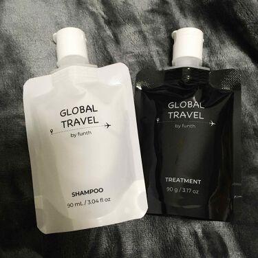 シャンプー/トリートメント/GLOBAL TRAVEL/シャンプー・コンディショナーを使ったクチコミ(1枚目)