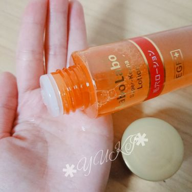 ラボラボスーパー毛穴ローションEGF+/ラボラボ/化粧水を使ったクチコミ(3枚目)
