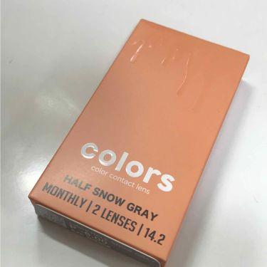 colors カラーコンタクト/カラーズ/その他を使ったクチコミ(1枚目)