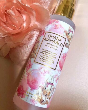 オハナ・マハロ フレグランスヘアミスト <アラ ホウマカニ>/OHANA MAHAALO/ヘアスプレー・ヘアミストを使ったクチコミ(1枚目)