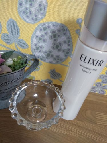 ホワイト クリアローション T II/エリクシール/化粧水を使ったクチコミ(1枚目)