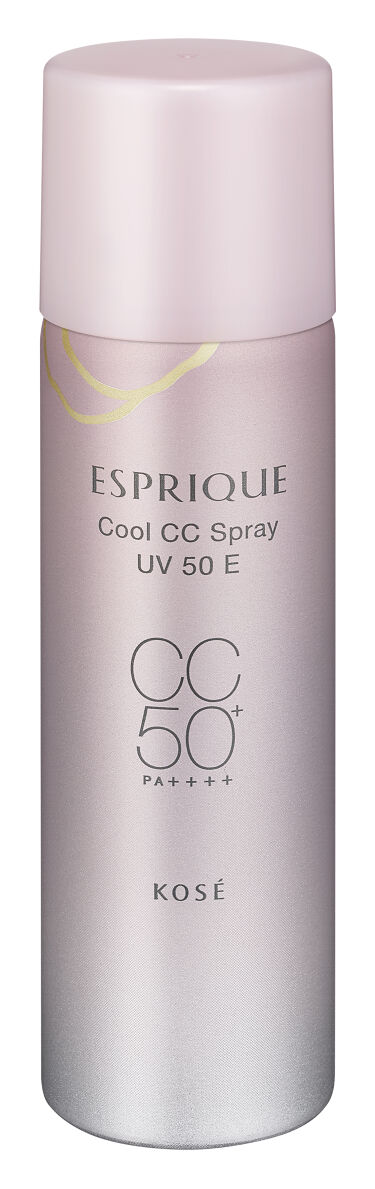 2021/5/16発売 ESPRIQUE ひんやりタッチ CCスプレー UV 50 E