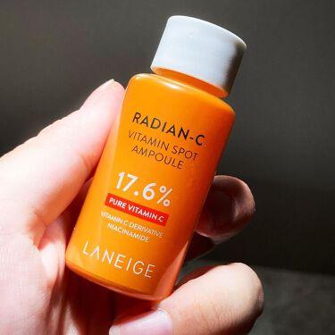 ラディアンーCビタミンスポットアンプル/LANEIGE/美容液を使ったクチコミ(2枚目)