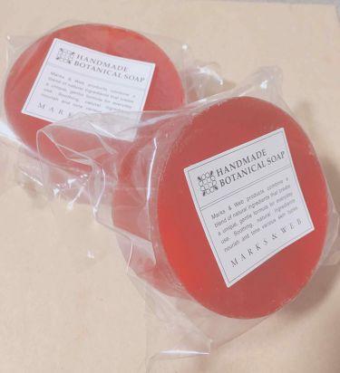ハンドメイドボタニカルソープ オレンジ/パルマローザ/MARKS&WEB/洗顔石鹸を使ったクチコミ(1枚目)