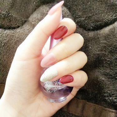 かりん on LIPS 「NEWネイル♡ワンカラージェルネイルボルドーくすんだ濃いピンク..」(1枚目)