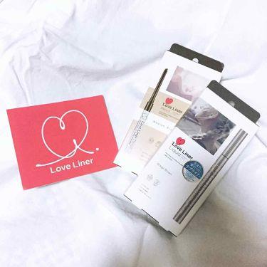 ラブライナー リキッド/ラブライナー(Love Liner)/リキッドアイライナーを使ったクチコミ(1枚目)