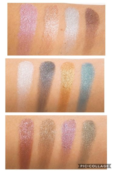 METALS  IN YOUR ELEMENTS PALETTE/NYX Professional Makeup/パウダーアイシャドウを使ったクチコミ(3枚目)